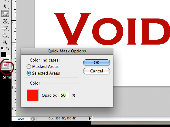 photoshop cs4 how to make words go around a circle
